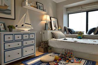 90平米三室两厅美式风格储藏室欣赏图