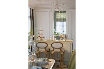 140平米三室两厅新古典风格餐厅设计图