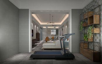 130平米三室两厅混搭风格健身室装修效果图