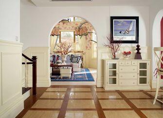 3万以下140平米四室三厅英伦风格走廊装修效果图