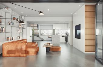 100平米三室两厅日式风格客厅装修图片大全