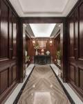 豪华型140平米别墅中式风格阁楼图片大全