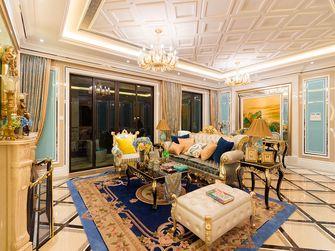 110平米三室一厅欧式风格餐厅图片