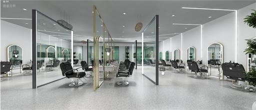 豪华型140平米现代简约风格客厅设计图