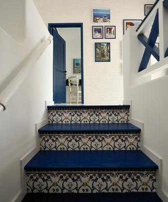 70平米复式地中海风格走廊图片