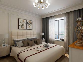120平米三室两厅欧式风格卧室装修图片大全