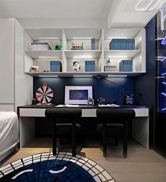 120平米三室一厅现代简约风格儿童房设计图
