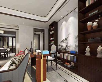 140平米三室一厅新古典风格书房设计图