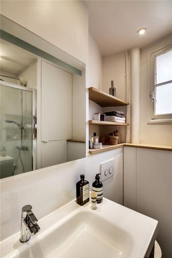 60平米公寓现代简约风格卫生间图片大全