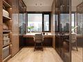 100平米三室两厅日式风格衣帽间图