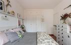 60平米一居室北欧风格卧室图片