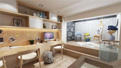 120平米别墅日式风格书房装修案例