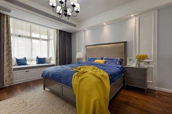 120平米四室两厅田园风格卧室装修图片大全