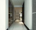 140平米三室两厅英伦风格走廊设计图