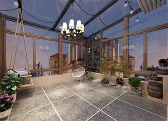 140平米别墅美式风格阳光房装修图片大全
