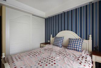 80平米三地中海风格卧室装修效果图
