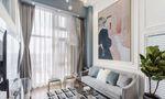 50平米一居室北欧风格客厅装修效果图