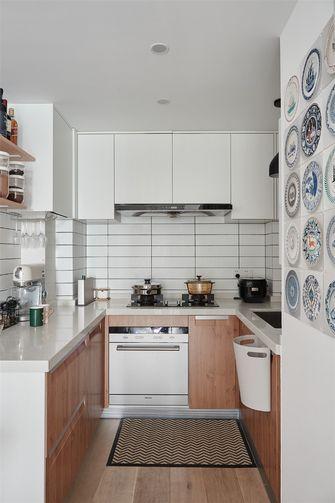80平米三室一厅北欧风格厨房图片