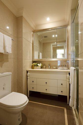140平米四室两厅美式风格卫生间浴室柜设计图