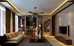 复式东南亚风格装修案例