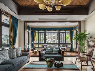 140平米别墅东南亚风格卧室效果图