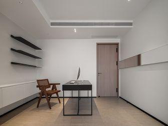 130平米三室两厅现代简约风格书房图片大全