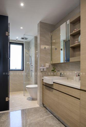 富裕型120平米三室一厅现代简约风格卫生间装修图片大全