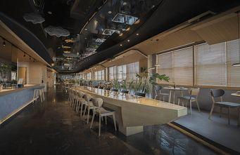 140平米公寓日式风格客厅图片