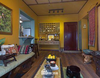 60平米一室一厅东南亚风格客厅装修案例