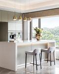 140平米三室三厅现代简约风格厨房效果图