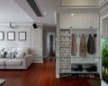 100平米三室两厅美式风格衣帽间鞋柜装修效果图
