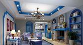 15-20万140平米四室三厅地中海风格客厅图