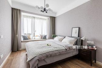 90平米复式现代简约风格卧室图片