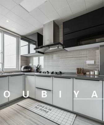 15-20万140平米四室两厅现代简约风格厨房装修案例