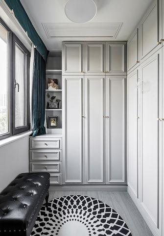 110平米三室一厅美式风格衣帽间欣赏图