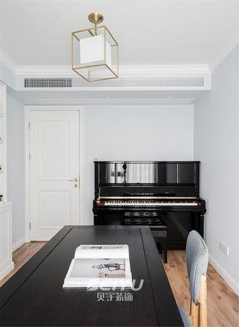 80平米三室两厅混搭风格书房效果图