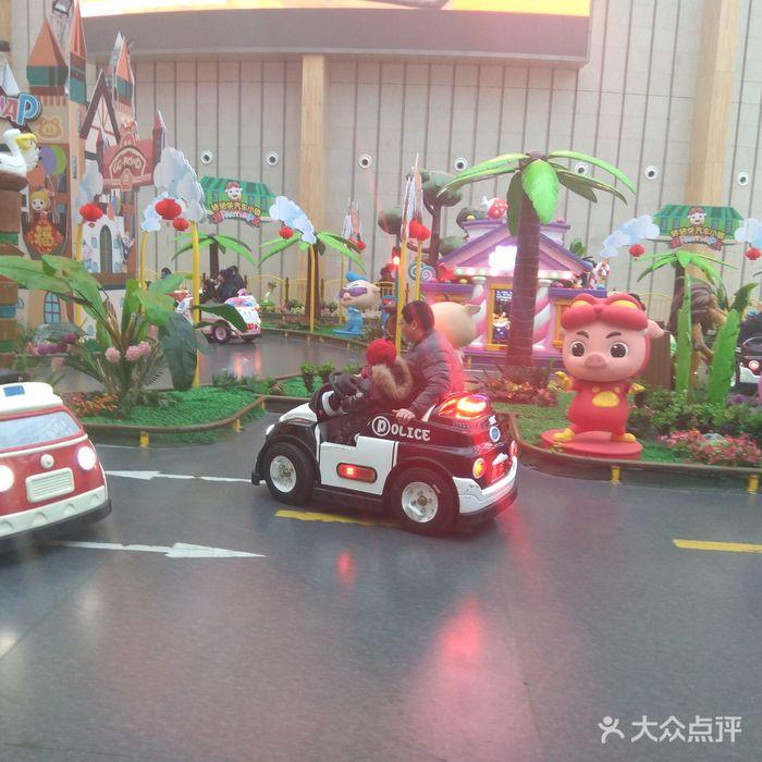 豬豬俠汽車小鎮圖片-北京兒童主題樂園-大眾點評網
