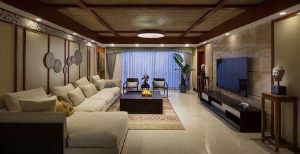 140平米三室两厅东南亚风格其他区域图