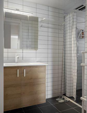 90平米三室三厅日式风格卫生间效果图
