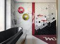 130平米现代简约风格卫生间设计图