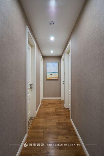 80平米美式风格走廊装修效果图