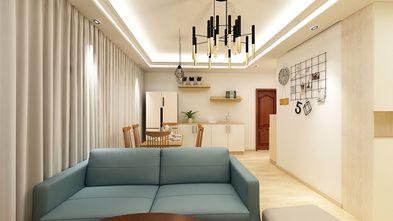 90平米田园风格客厅图片大全