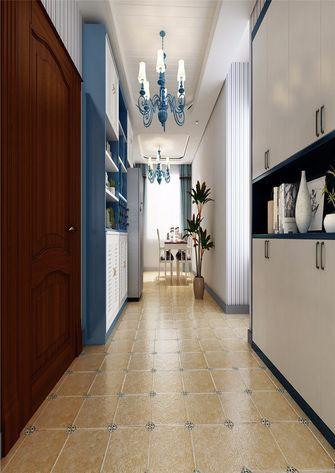 130平米三室一厅法式风格走廊图