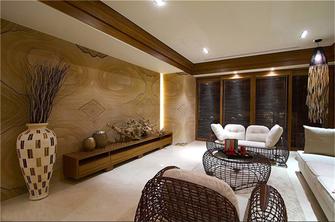 90平米三室三厅东南亚风格客厅效果图