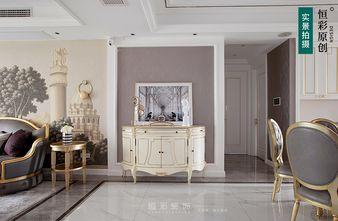 豪华型120平米三室两厅法式风格玄关设计图
