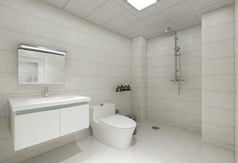80平米三现代简约风格卫生间装修案例