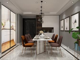 60平米一居室现代简约风格餐厅装修效果图