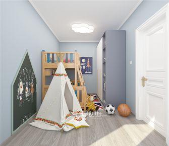 90平米三北欧风格儿童房图