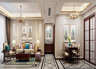130平米三室一厅中式风格玄关图
