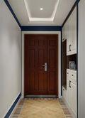 90平米美式风格玄关装修案例